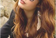 hair & colours & glasses
