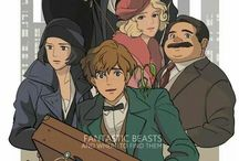 Studio ghibli Harry Potter