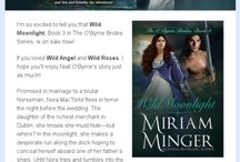 Miriam Minger Newsletters / Check out my newsletters for fun updates about my books, giveaways, and special promotions!