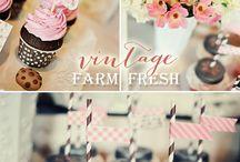 Vintage farm party