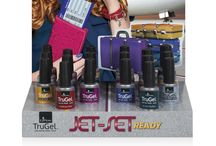 Jet Set Ready / EzFlow TruGel Collection- Jet-Set Ready Get your passport ready and your bags packed for an on-the-go fabulous look with this first class, Jet-Set Ready Collection. Beautiful, trend-setting Fall 2013 colors have high-gloss shine and last for weeks.