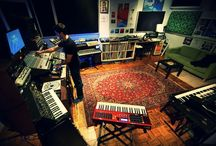 Studio Spaces / Mood board of studio spaces from around the world