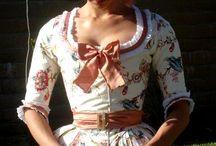 vestidos medieval