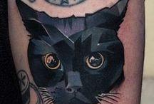 Kocie tatuaże / Tatuaże z motywem kocim :)