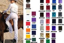 western horse show clothes