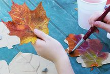 Fall Fun / Oodles of fall crafts and activities to keep your little ones busy and you sane!