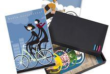 Cycling Art Gift Boxed Sets