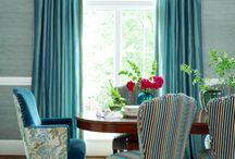 Текстильный дизайн / Curtains and other fabric details / by Лилиана Решетникова