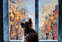Ζώα σε πίνακες