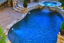 medencés kert