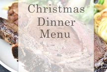 chriatmas menu
