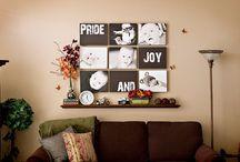 gallery walls / by Erin Koirtyohann