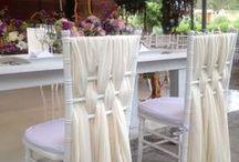 ideas para vestir sillas tifany
