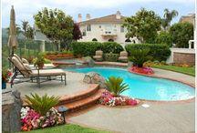 Backyard/Swimming Pool Ideas / Ideas for a backyard pool