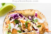 Recipes / Fish tacos