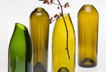 Recycler les bouteilles de vin