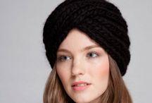 Вязание шапочки, снуды, шарфы