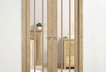 Internal Doors / Internal and External Doors. Oaks, Laminates, Colours, Bi-Folds, French Doors