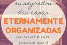 organização e limpeza