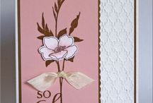 Cards and stamps / by Suzanne Melson