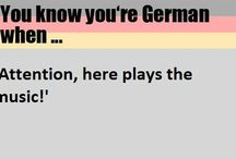 You are german when...