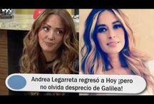 Andrea Legarreta regresó a Hoy ¡pero no olvida desprecio de Galilea!
