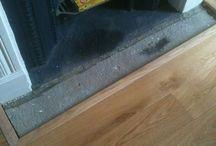 Solid Oak Planks / Solid Oak Planks Laid On Unstable Floor