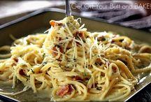 Spaghetti dishes