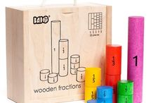 Early years resources and games. / Toys and materials for early years education.