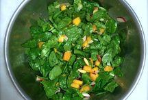 Salads / Any salad, sweet or savory.