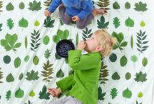 Las i niebo design / The Forest and the sky theme series are something more than decoration.  They serve as a pretext for children curiosity development. You can explore the themes, (co)create and, first of all, keep having a dialogue with the little, smart head.