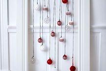 Contemporary Christmas decor