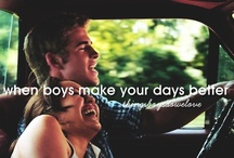 What boys do that I love :)