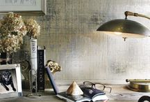 WALLPAPER & WALLCOVERINGS / beautiful wallpaper & wallcoverings. / by cristin priest | simplified bee