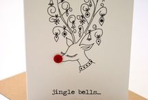 Christmas doodle cards