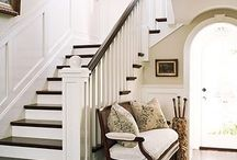 Stairs I LOVE / Beautiful DIY options for your stairs.