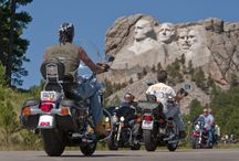 Welcome Bikers! / The Black Hills offer some of the most fun and relaxing scenic drives. Sturgis, home of the Annual Sturgis Motorcycle Rally, is only 29 miles from Rapid City - meaning we get to see some really cool rides every year!