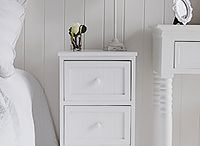 Small bedside tables / Small bedside tables and cabinets for your bedroom from The White Lighthouse