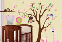 Kids Decor / Kids Playroom Decor ideas. Wall decals, stickers, rugs and more.