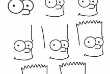 simpsons drawing