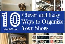 Ways To Store Your Shoes / Imelda Marcos was reputed to have owned1060 pairs of shoes - I wonder which of these storage systems she used! Use this page to get some ideas on how you can creatively store your shoes for easy access.