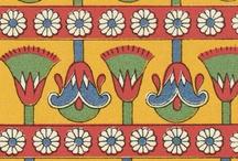 egiptian pattern