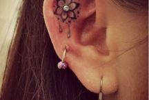 Tatuagens de ouvido