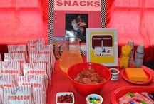 Scarlets 9th birthday party ideas