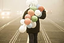 balloons / by Carlos Gonzalez