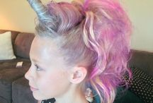 Creative hairstyles
