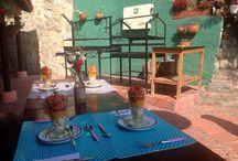 Desayunos saludables. MonteMadero casa hotel / Desayunos saludables llenos de color