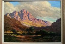 ALL ART BY TINUS & GABRIEL DE JONG / South African Landscapes