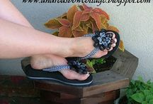 Crochet - Chaussons chaussures