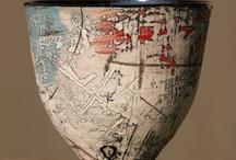 Printmaking on ceramics